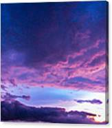 5th Storm Chase 2015 Canvas Print