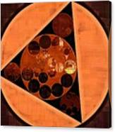 Abstract Painting - Zinnwaldite Brown Canvas Print