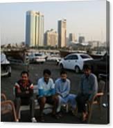 Abu Dhabi The Miracle Canvas Print