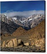Alabama Hills, Ca Canvas Print