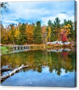 Autumn Season In Killarney Canvas Print