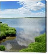 Cape Cod Salt Pond Canvas Print