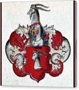Coat Of Arms. Canvas Print