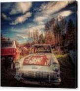 Derelict Transport Canvas Print
