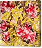 Divine Flower Canvas Print