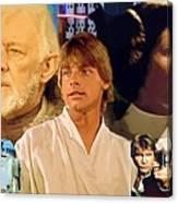 Galaxies Star Wars Poster Canvas Print