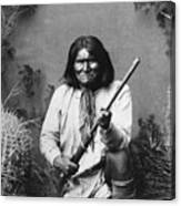 Geronimo (1829-1909) Canvas Print