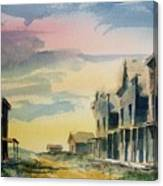 Ghost Town Canvas Print