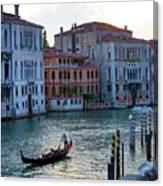 Gondola, Canals Of Venice, Italy Canvas Print