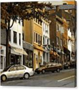 Greenwich Avenue Canvas Print