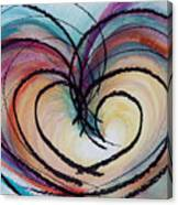 Hearts By Barb Canvas Print