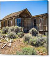 Homestead, Bodie Ghost Town Canvas Print