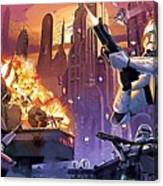 Imperial Star Wars Poster Canvas Print