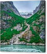 Inside Passage Mountain Views Around Ketchikan Alaska Canvas Print