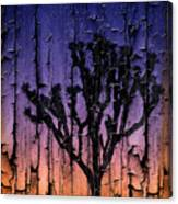 Joshua Tree With Special Effects Canvas Print