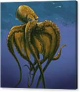 8 Legs Of The Sea Canvas Print
