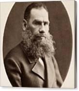 Leo Tolstoy (1828-1910) Canvas Print