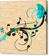 Music Flows Collection Canvas Print