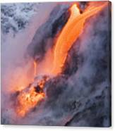 Pahoehoe Lava Flow Canvas Print