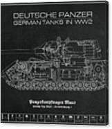 Panzerkampfwagen Maus Canvas Print