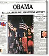Presidential Campaign, 2008 Canvas Print