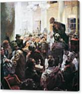 Russian Revolution, 1917 Canvas Print