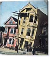San Francisco Earthquake Canvas Print