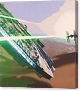 Star Wars Old Art Canvas Print