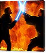 Star Wars Old Poster Canvas Print