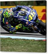 Valentino Rossi The Doctor  Canvas Print