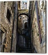 Walking Through The Streets Of Pretoro - Italy  Canvas Print