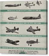World War II Advertisement Canvas Print