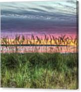 Yorktown Beach At Sunrise Canvas Print
