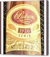 Serie 1926 Padron Cigar  Canvas Print