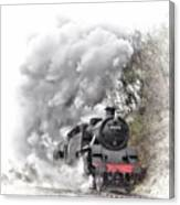 80072 Steaming In The Rain Canvas Print