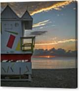 8041- Miami Beach Sunrise Canvas Print