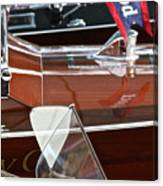 Classic Wooden Runabouts Canvas Print