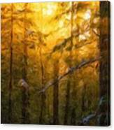 Nature Oil Painting Landscape Canvas Print