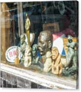 8238- Little Havana Store Canvas Print
