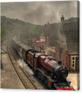 8624 At Froghall Station Canvas Print