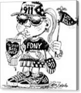 9/11 Commercialization Canvas Print