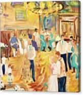 9/23/17 Rustic Barn Nuptial Canvas Print