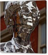Andy Warhol Statue Union Square Nyc Canvas Print