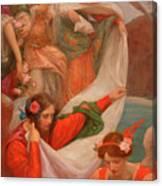 Angels Descending Canvas Print