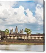 Angkor Wat In Cambodia Canvas Print