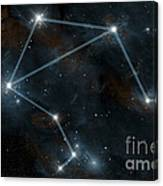 Artists Depiction Of The Constellation Canvas Print