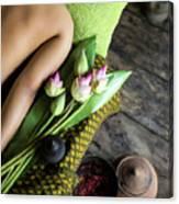 Asian Massage Spa Natural Organic Beauty Treatment Canvas Print