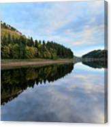 Autumn Derwent Reservoir Derbyshire Peak District Canvas Print