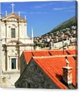 Croatia, Dubrovnik Canvas Print