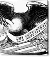 Eagle, 19th Century Canvas Print